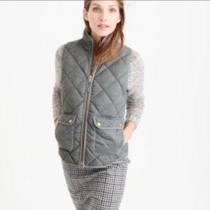 J. Crew Jackets & Coats - J. Crew {retail} Grey Flannel Excursion Vest